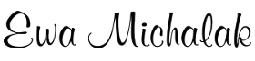 Logo for Ewa Michalak